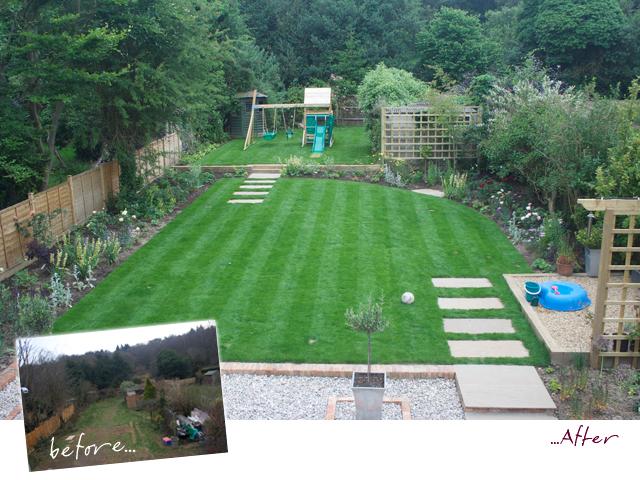 Sylvan studio wiltshire garden design for Family garden designs